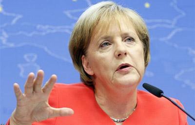 Angela Merkel.- REUTERS