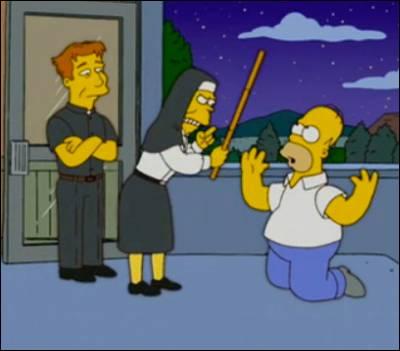 Los Simpsons, un ejemplo de la vida católica