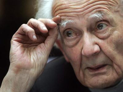 El sociólogo polaco Zygmunt Bauman es autor de ensayos de éxito como Miedo líquido'.ROBERTO TUÑÓN