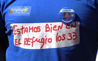 Chile se ha volcado en el rescate de los mineros atrapados. AFP
