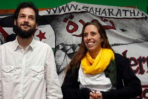 Javier Sopeña y Silvia García