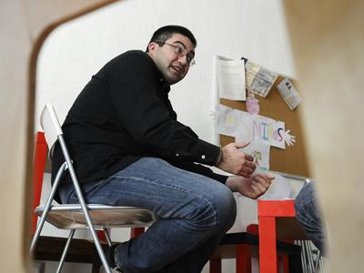 El responsable del colectivo Iglesia sin Abusos, Carlos Sánchez Matto, en una imagen de archivo.DANI POZO