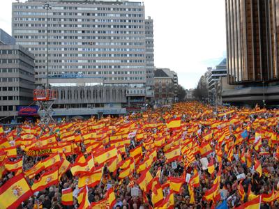 manifestacion contra eta