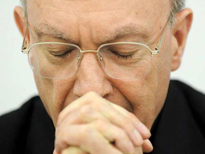 André Leonard, jefe de la Iglesia católica en Bélgica. - EFE