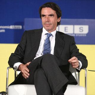 El ex presidente de Gobierno y presidente de la Fundación de Análisis y Estudios Sociales (FAES), José María Aznar,