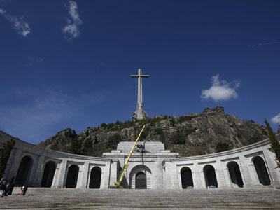Imagen del monumento, el pasado 26 de abril.