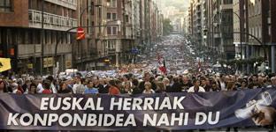 Manifestación en Bilbao