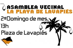 Asamblea vecinal 'La Playa de Lavapiés'
