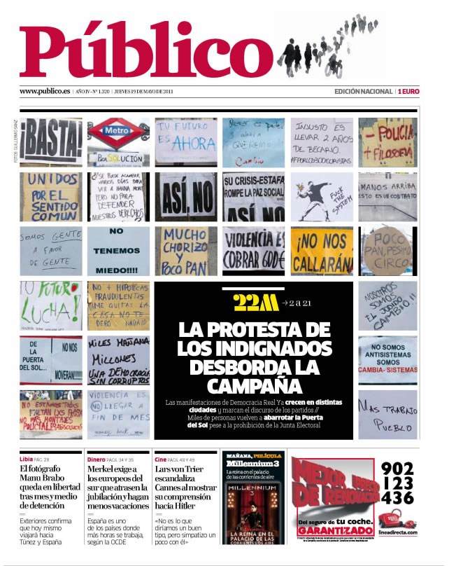 Portada Público 19-05-2011