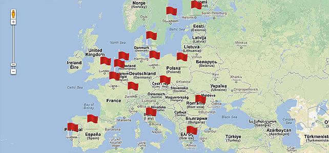 Un seísmo con réplicas en Europa