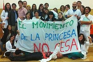 Residentes del Hospital La Princesa