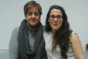 Nuria Bouzo y Belén Padilla