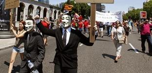 Las marchas de parados y precarios llegan a Madrid al mes de iniciar su protesta