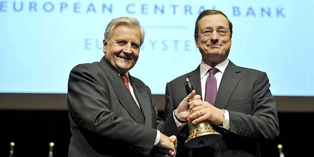 trichet y draghi