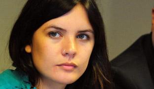 La joven revolucionaria<br> chilena optará a diputada<br> por el Partido Comunista