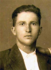Lucas Calahorra, fusilado durante la Guerra Civil. -A.C.