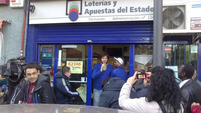 loteria de navidad 2007 en directo: