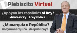 Primer plebiscito virtual: ¿Monarquía o República?