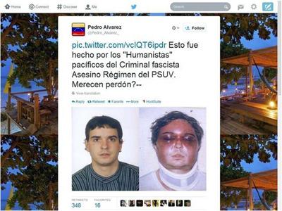 Venezuela tweet falso Euskadi