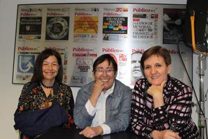 Isabel Serrano, Carmen Martínez Ten y Concha Cifrián
