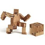 "Robot Puzzle de Madera ""Cubebot"""