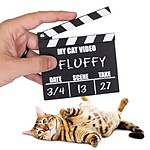 Claqueta para Vídeos de Gatos